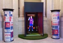 Rètols Alarcón colaboró en la inauguración de Barça Store F.C. Barcelona de Las Ramblas (Barcelona)