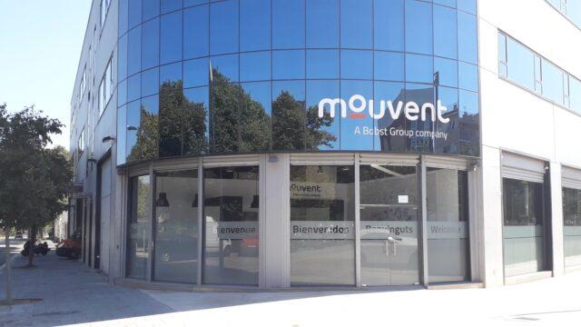 Rètols Alarcón para las nuevas instalaciones de Mouvent en El Prat de Llobregat