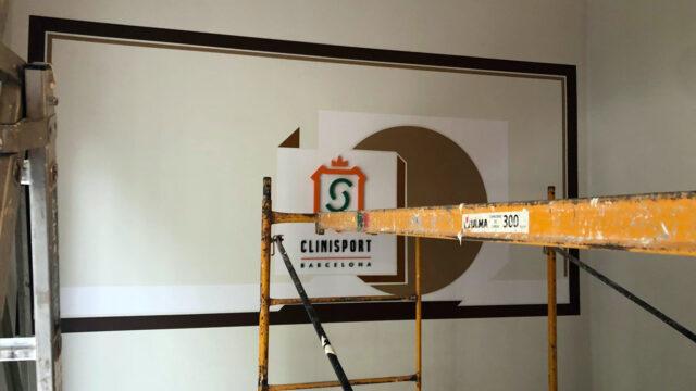 Rètols Alarcón trabaja en el interiorismo del nuevo centro deportivo de Clinisport Barcelona